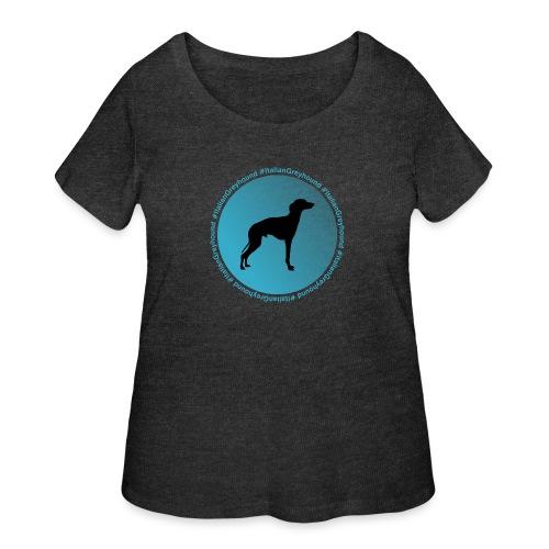 Italian Greyhound - Women's Curvy T-Shirt