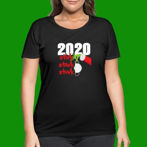 2020 Stink Stank Stunk Christmas - Women's Curvy T-Shirt