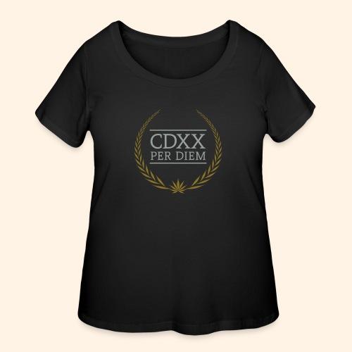 CDXX Per Diem - Women's Curvy T-Shirt
