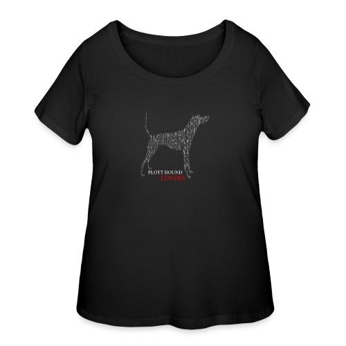 Plott Hound Lovers - Women's Curvy T-Shirt