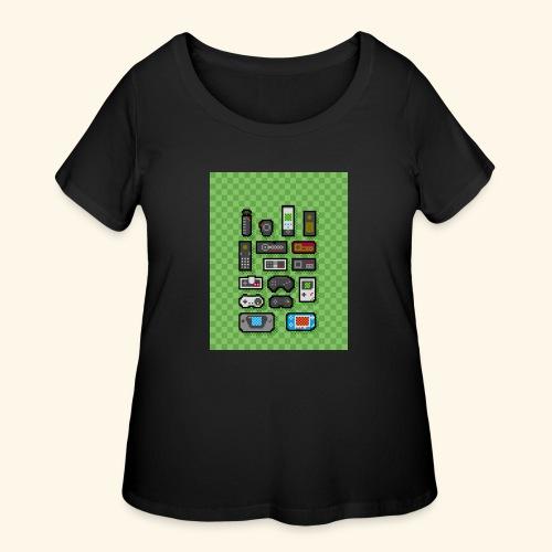 controller handy - Women's Curvy T-Shirt