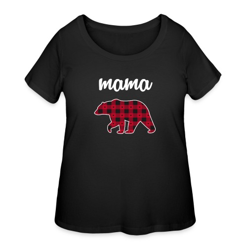 Mama Bear - Women's Curvy T-Shirt