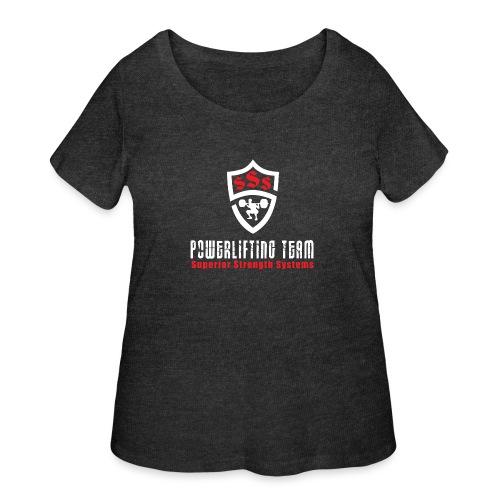Powerlifting Team - Women's Curvy T-Shirt