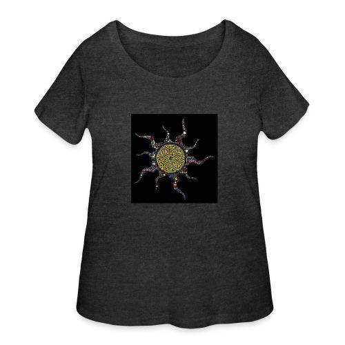 awake - Women's Curvy T-Shirt