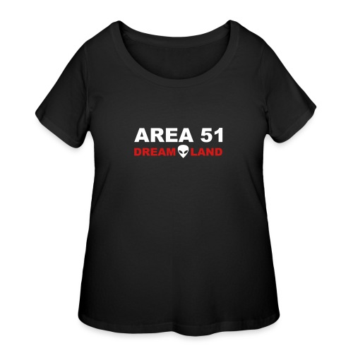 Area 51 Dreamland - Women's Curvy T-Shirt