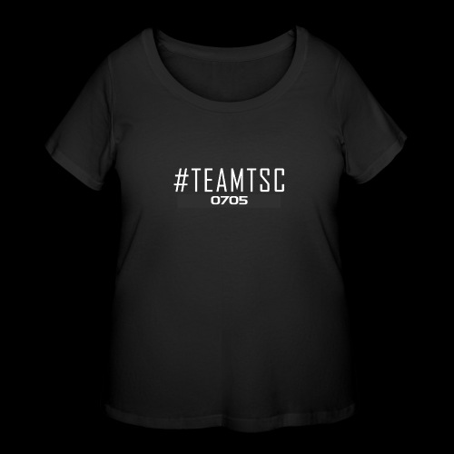 TeamTSC 01b - Women's Curvy T-Shirt