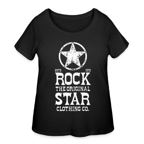 original rock star - Women's Curvy T-Shirt