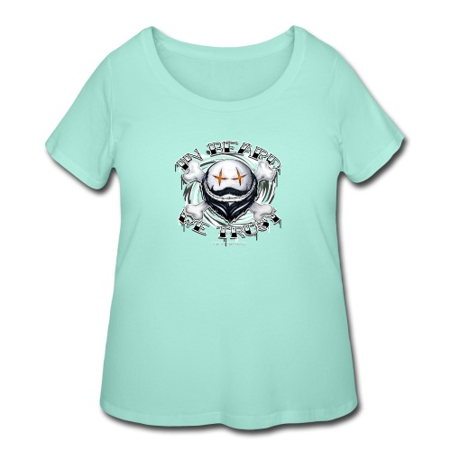 in beard we trust - Women's Curvy T-Shirt