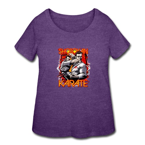 Shotokan Karate - Women's Curvy T-Shirt