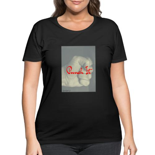 Punch it by Duchess W - Women's Curvy T-Shirt