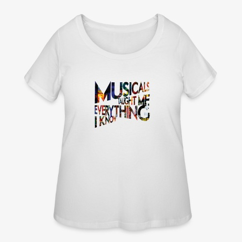 MTMEIK Broadway - Women's Curvy T-Shirt