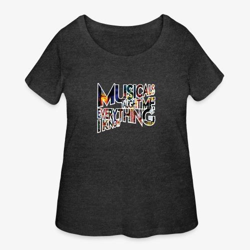MTMEIK Broadway - Women's Curvy T-Shirt