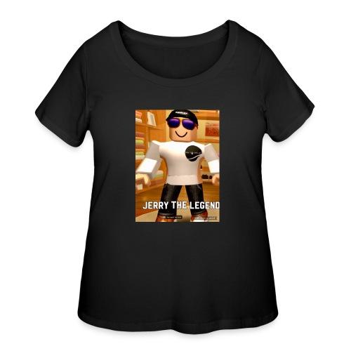 62B98A55 002B 4694 8CC5 5AE95912D45D - Women's Curvy T-Shirt