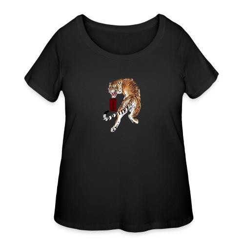 Beta12 / Japanese Tiger - Women's Curvy T-Shirt