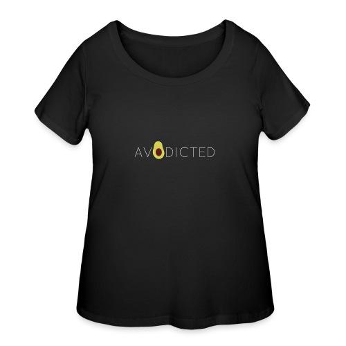 Avodicted - Women's Curvy T-Shirt