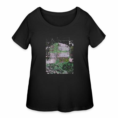 Bricks and nature - Women's Curvy T-Shirt