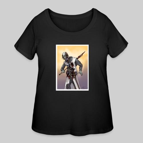Zombie Crusader - Women's Curvy T-Shirt