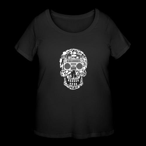 Audio Skull - Women's Curvy T-Shirt