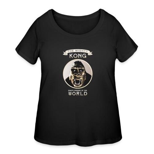Classic Kong - Women's Curvy T-Shirt