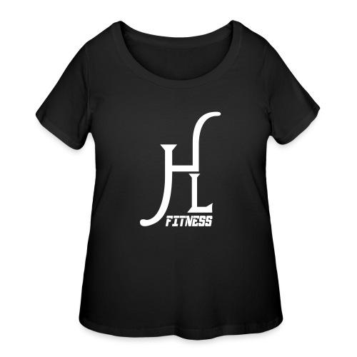 HLF Vector WHT - Women's Curvy T-Shirt