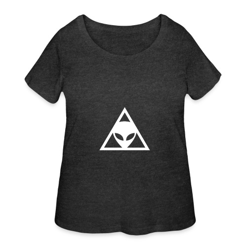 Alien Conspiracy - Women's Curvy T-Shirt