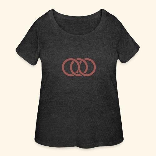 circle paradox - Women's Curvy T-Shirt