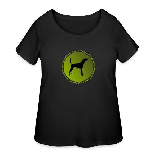 Plott Hound - Women's Curvy T-Shirt