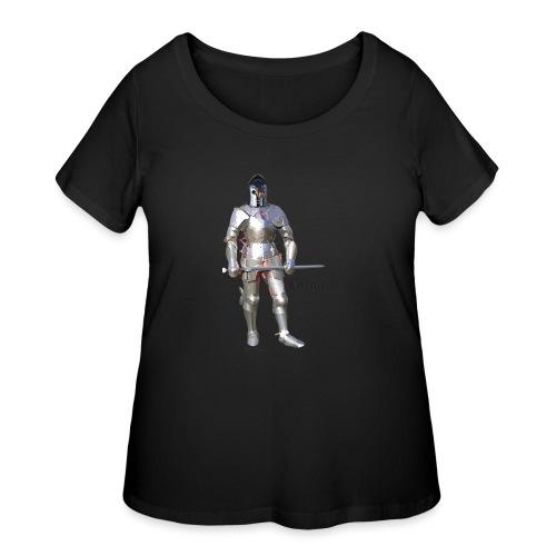 Plate Armor Bring it men's standard T - Women's Curvy T-Shirt