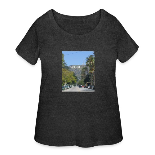 RockoWood Sign - Women's Curvy T-Shirt