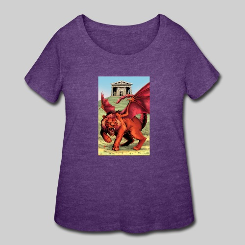 Manticore - Women's Curvy T-Shirt
