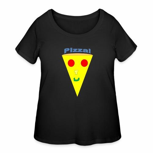 pizzalogo - Women's Curvy T-Shirt