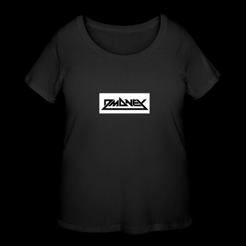 D-money merchandise - Women's Curvy T-Shirt