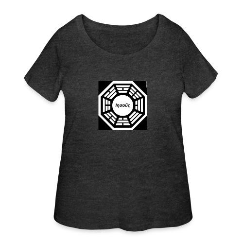 My Dharma is Jesus - Women's Curvy T-Shirt