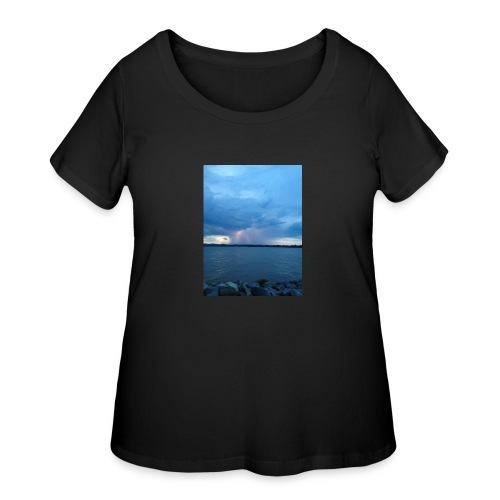 Storm Fall - Women's Curvy T-Shirt