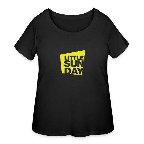 littleSUNDAY Official Logo - Women's Curvy T-Shirt