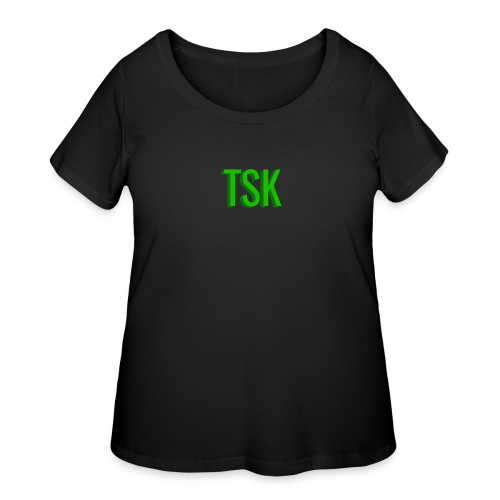 Meget simpel TSK trøje - Women's Curvy T-Shirt