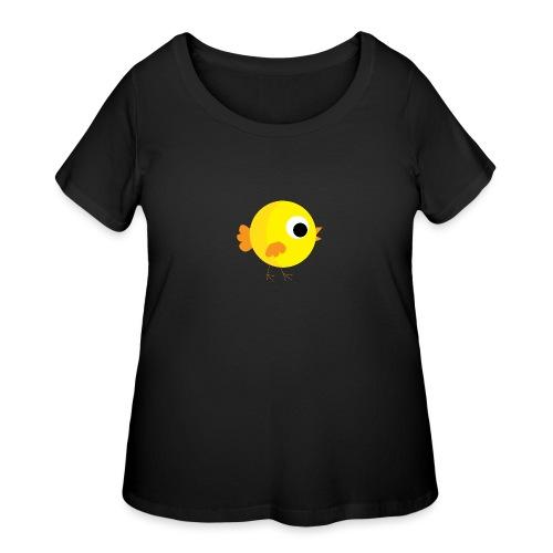 HENNYTHEPENNY1 01 - Women's Curvy T-Shirt