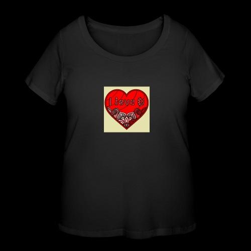 DE1E64A8 C967 4E5E 8036 9769DB23ADDC - Women's Curvy T-Shirt