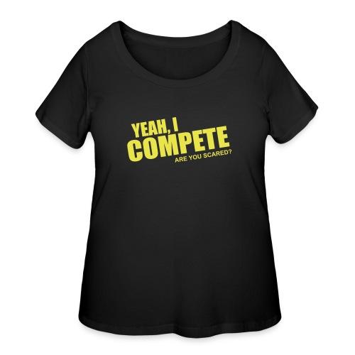 compete - Women's Curvy T-Shirt