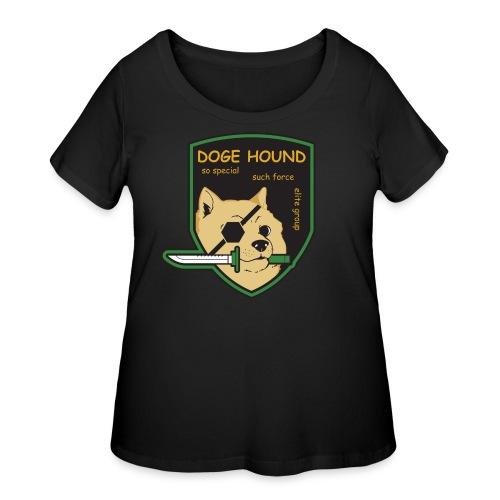 Doge Hound Metal Gear Solid - Women's Curvy T-Shirt