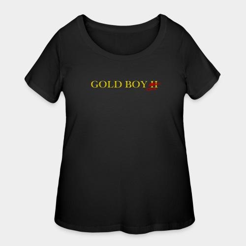 Gold Boy One - Women's Curvy T-Shirt