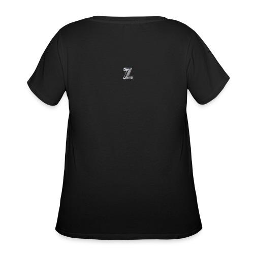 Zawles - metal logo - Women's Curvy T-Shirt