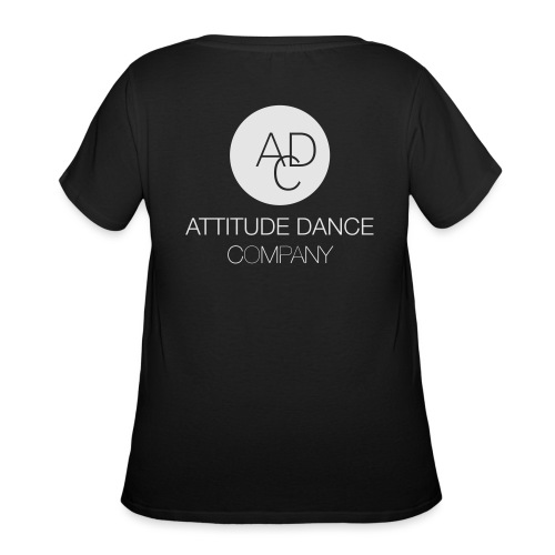 ADC Logo - Women's Curvy T-Shirt