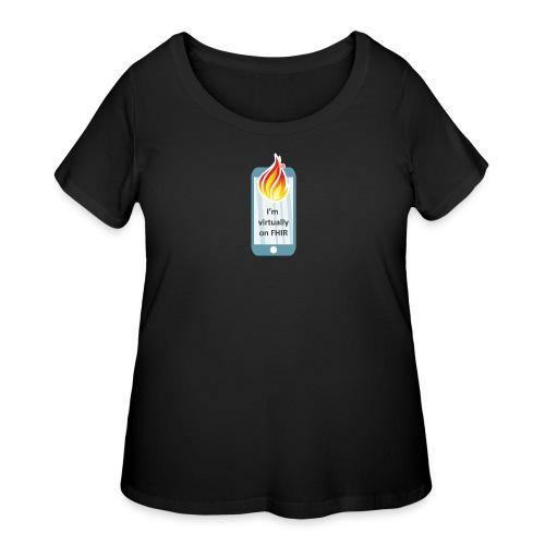 HL7 FHIR DevDays 2020 - Mobile - Women's Curvy T-Shirt