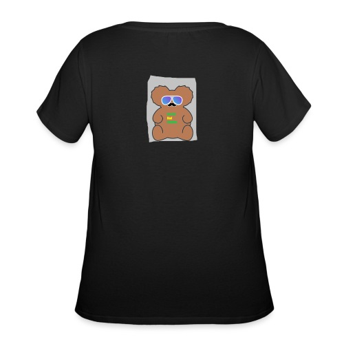 Aussie Dad Gaming Koala - Women's Curvy T-Shirt