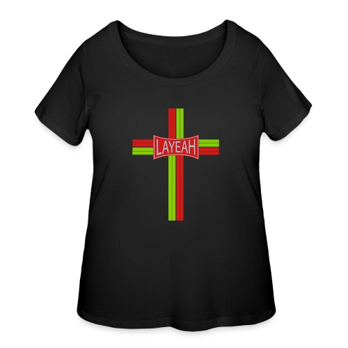 Cross Layeah Shirts - Women's Curvy T-Shirt