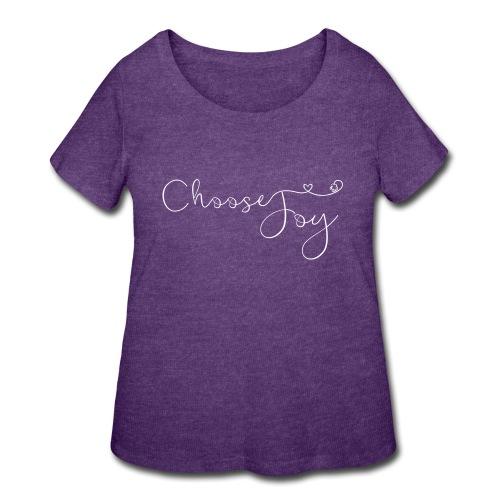 Choose Joy - Women's Curvy T-Shirt