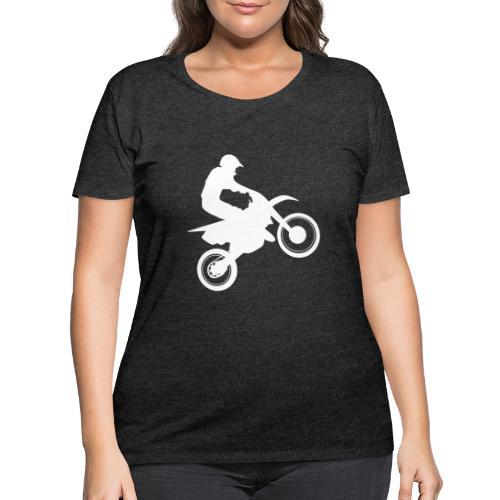 Motocross - Women's Curvy T-Shirt