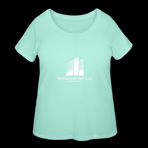 MEGACORP - GIANT EVUL CORPORATION - Women's Curvy T-Shirt