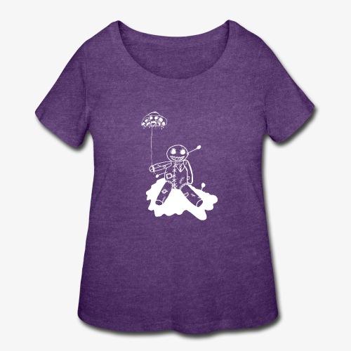 voodoo inv - Women's Curvy T-Shirt